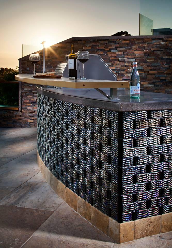 Glass Mosaic Tiles Pono Stone Glass Tiles Natural